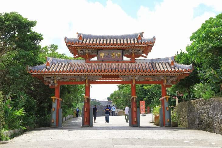 沖縄県 首里城入口