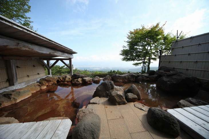 宮崎県の景色の良い温泉