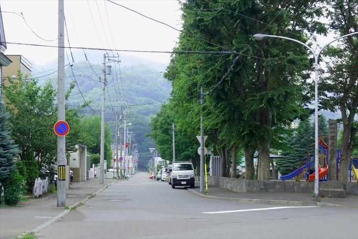 札幌伏見稲荷神社 旧参道