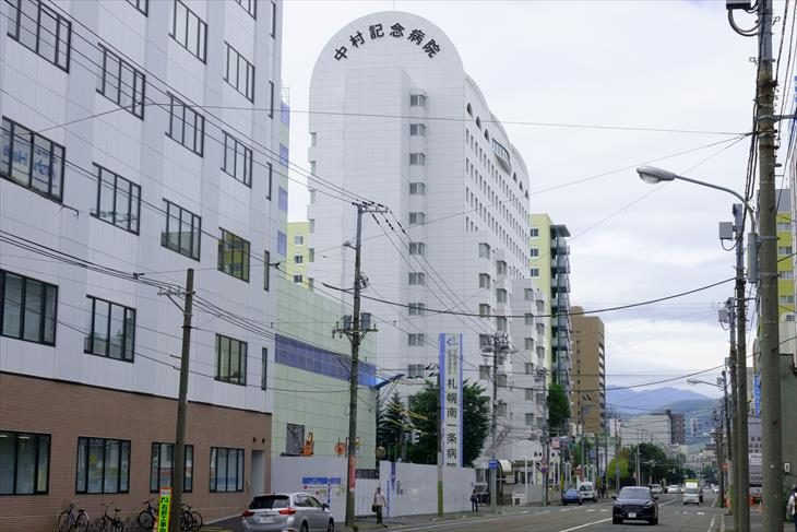 南1条通と病院通り