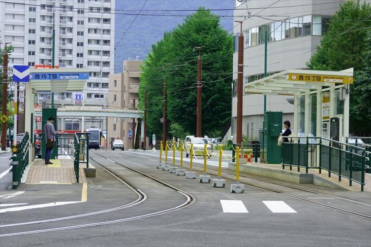 札幌市電 西15丁目駅
