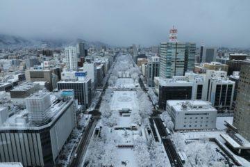 札幌・大通公園の冬の様子
