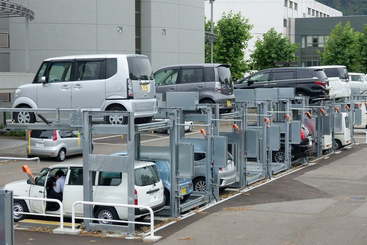 乗降式駐車場