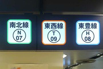 札幌の地下鉄3路線