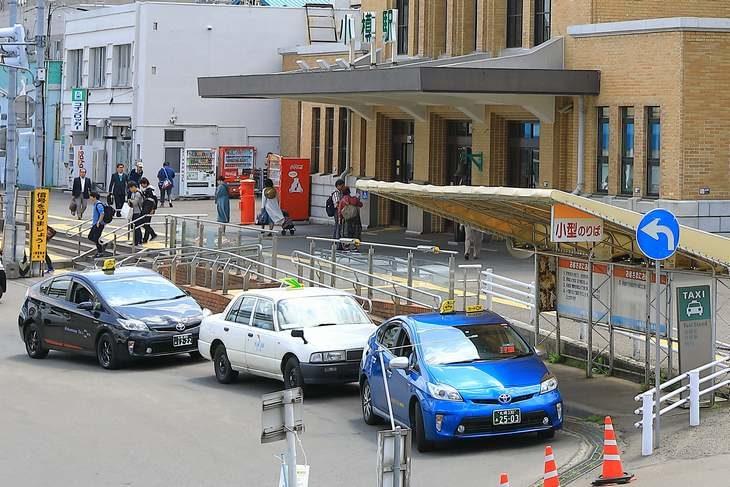 小樽駅前タクシー乗り場