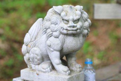 小樽天狗山神社 狛犬様
