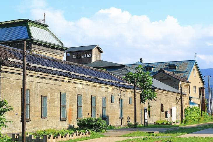 旧日本郵船株式会社 小樽支店残荷倉庫