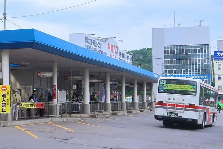 小樽駅前バス停