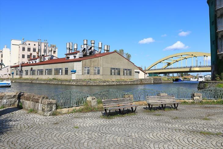 北運河の南端