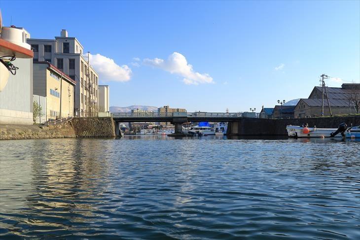 小樽北運河 北浜橋