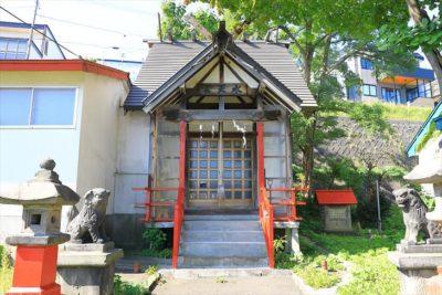 能島水天宮 社殿