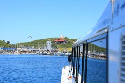 小樽海上観光船「あおばと」