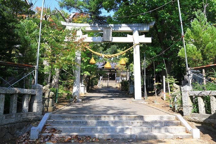 小樽稲荷神社 鳥居