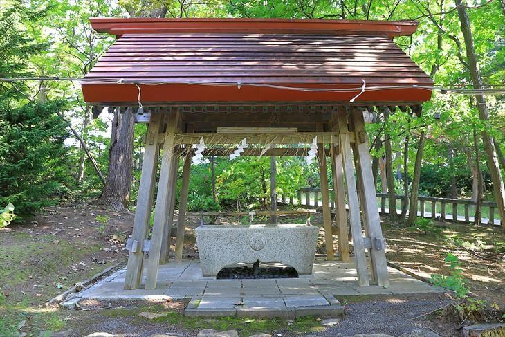 小樽稲荷神社 手水舎