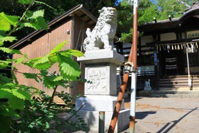 小樽稲荷神社 狛犬様