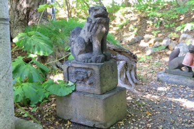 小樽稲荷神社 境内社の狛犬様