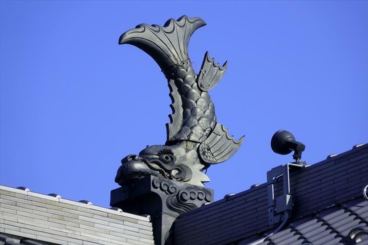 旧小樽倉庫 シャチホコ