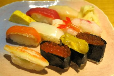 小樽 寿司耕のお寿司