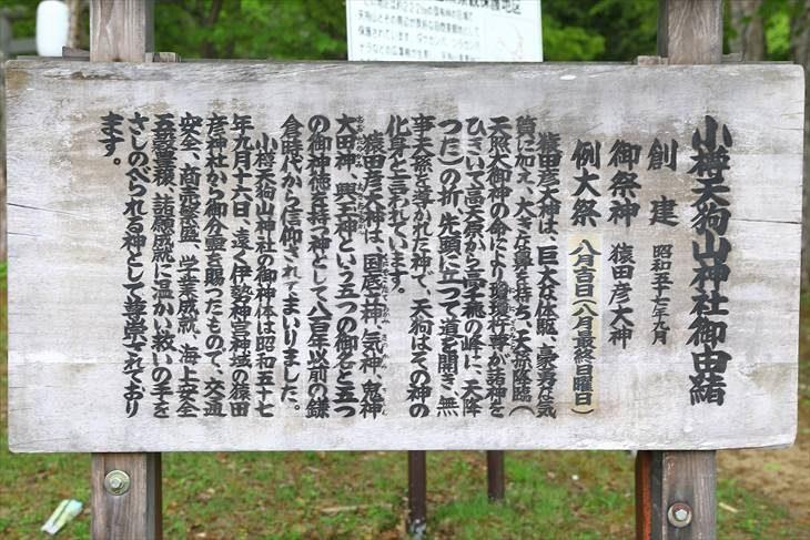 小樽天狗山神社 由緒