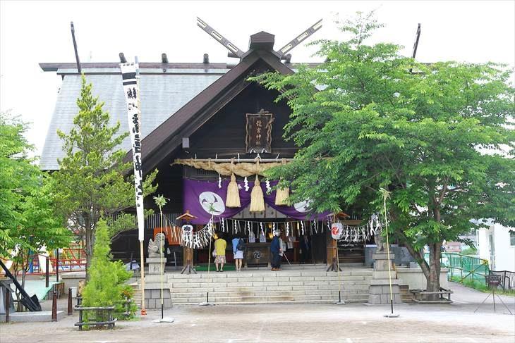 小樽 龍宮神社