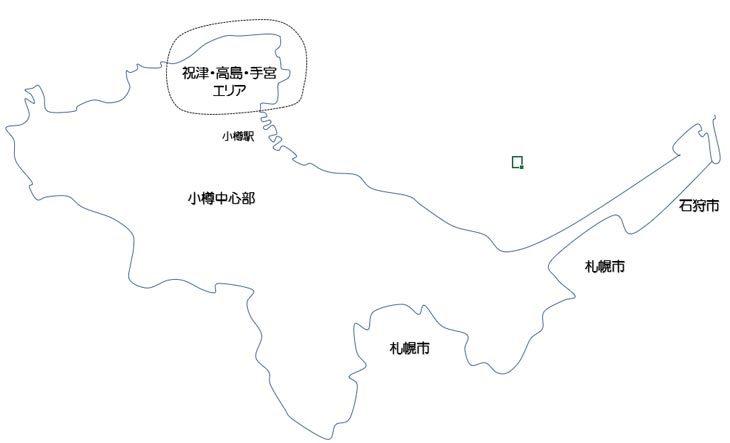 祝津・高島・赤岩・手宮エリア