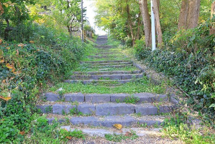 水天宮への階段