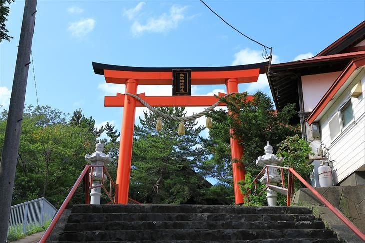 高島稲荷神社 第二鳥居