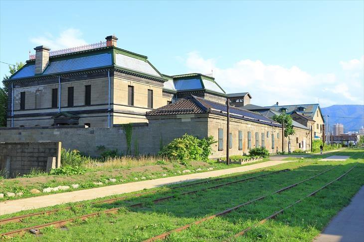 手宮線跡地 旧日本郵船株式会社 小樽支店
