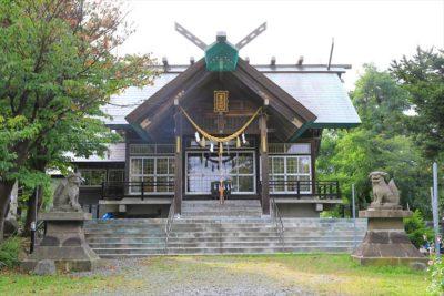 豊足神社 社殿