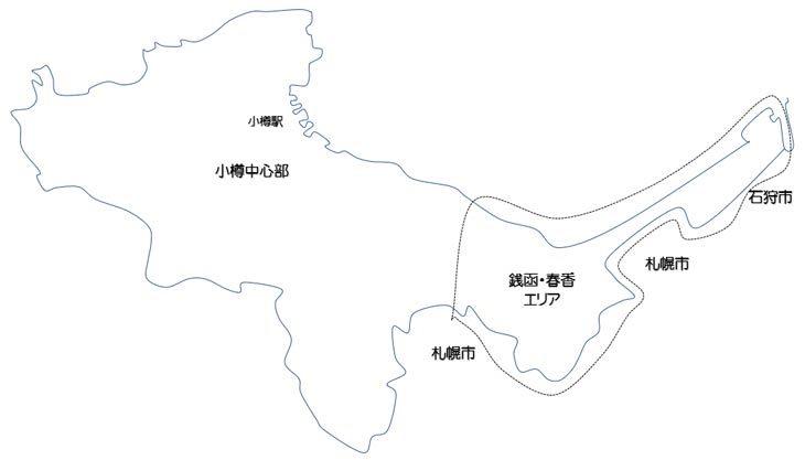 銭函・春香エリアの観光スポット