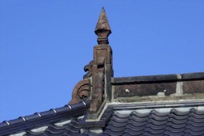 旧第百十三国立銀行小樽支店のトンガリ