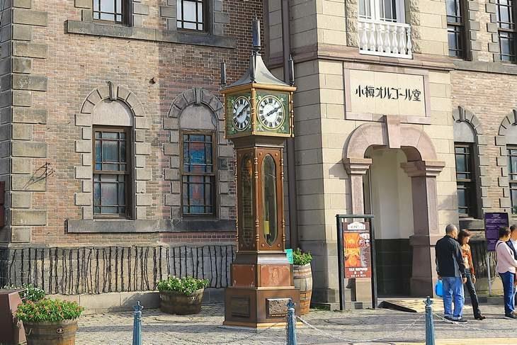旧共株(株)前の時計