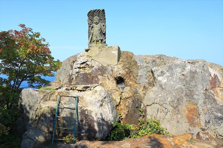 小樽海岸自然探勝路 テーブル岩