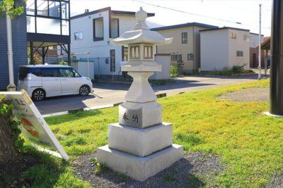 朝里神社 石灯籠