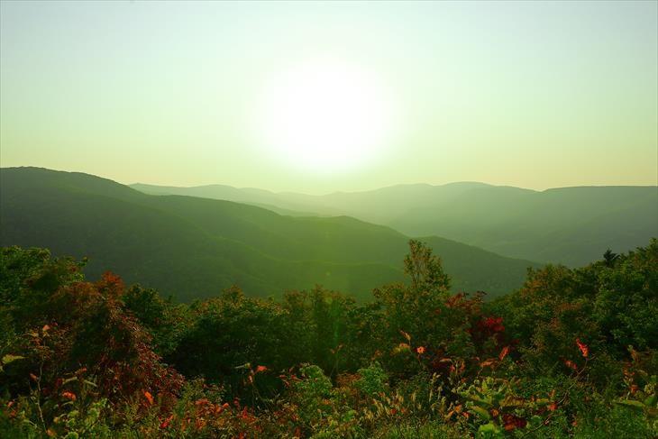 毛無山展望所からの風景