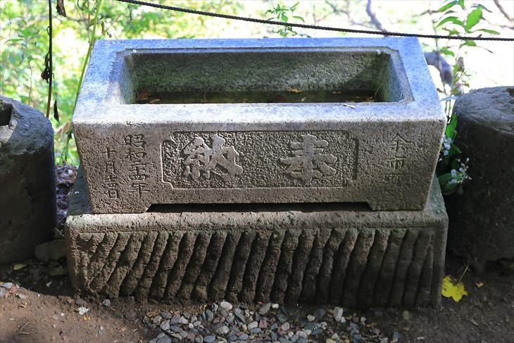 金吾龍神社 手水鉢
