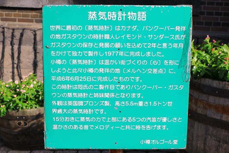 旧共株(株)蒸気時計物語