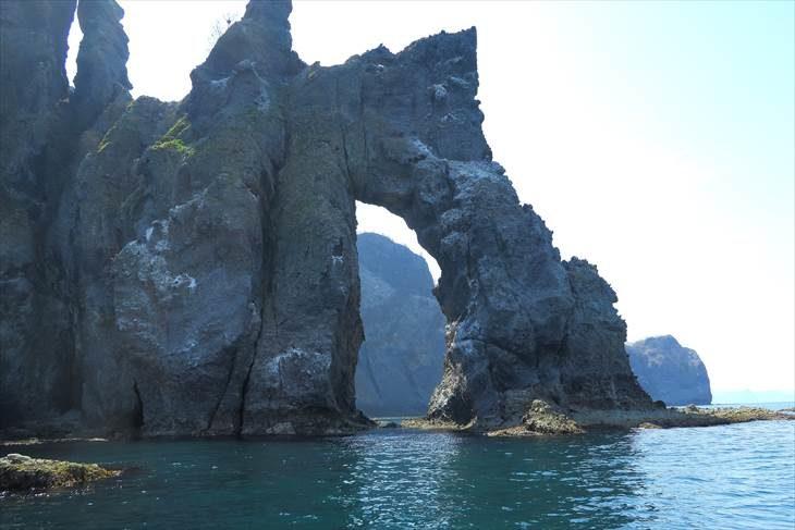 オタモイ海岸 窓岩
