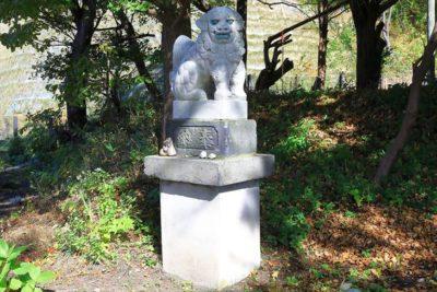蘭島神社 狛犬様