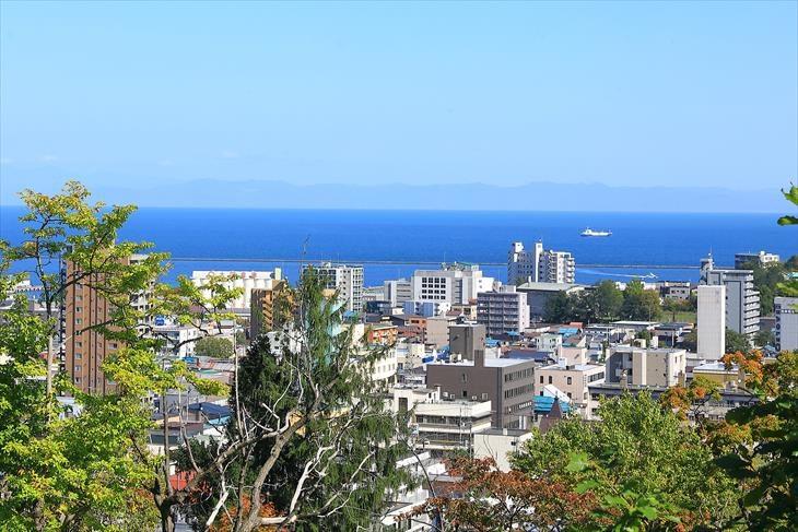 小樽公園からの景色