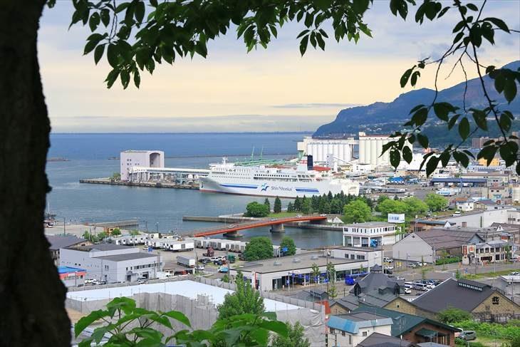 小樽 水天宮からの眺め