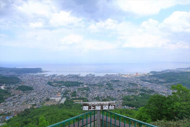 小樽天狗山展望台