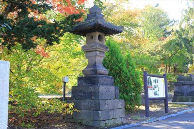 小樽総鎮守 住吉神社 石灯籠
