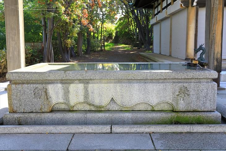 住吉神社 手水鉢