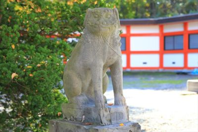 小樽総鎮守 住吉神社 狛犬様