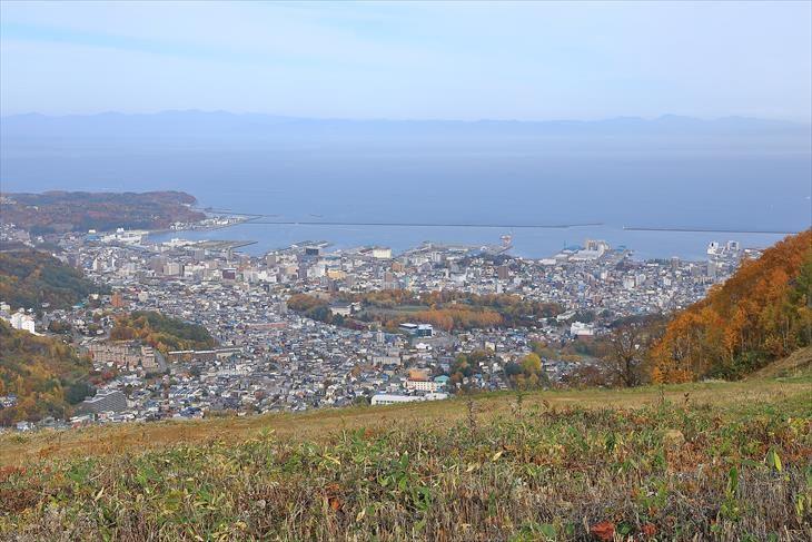 小樽 天狗山からの風景