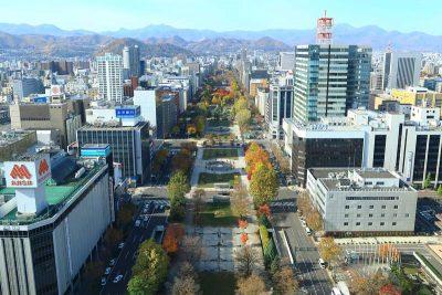 札幌 大通公園全景
