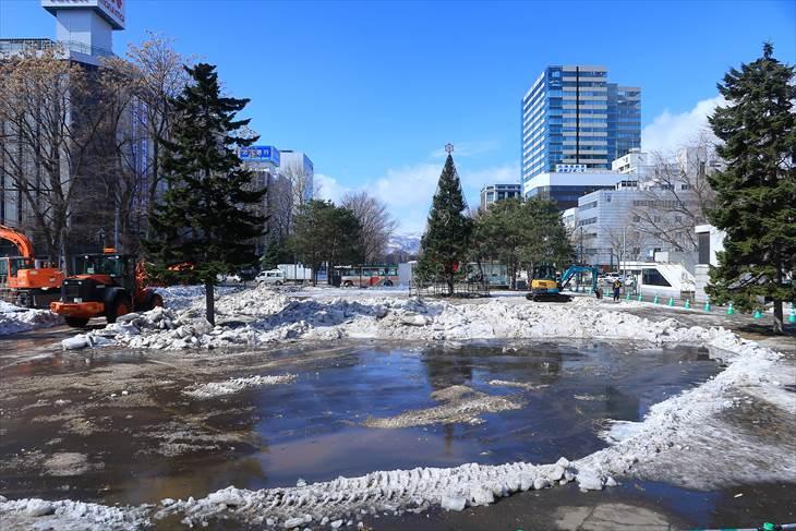 大通公園1丁目 冬から春