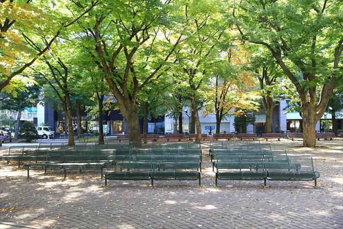 大通公園6丁目の風景