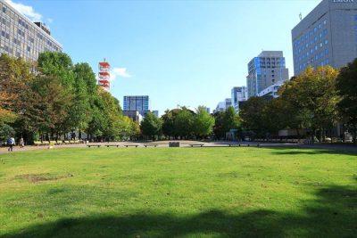 大通公園7丁目の風景